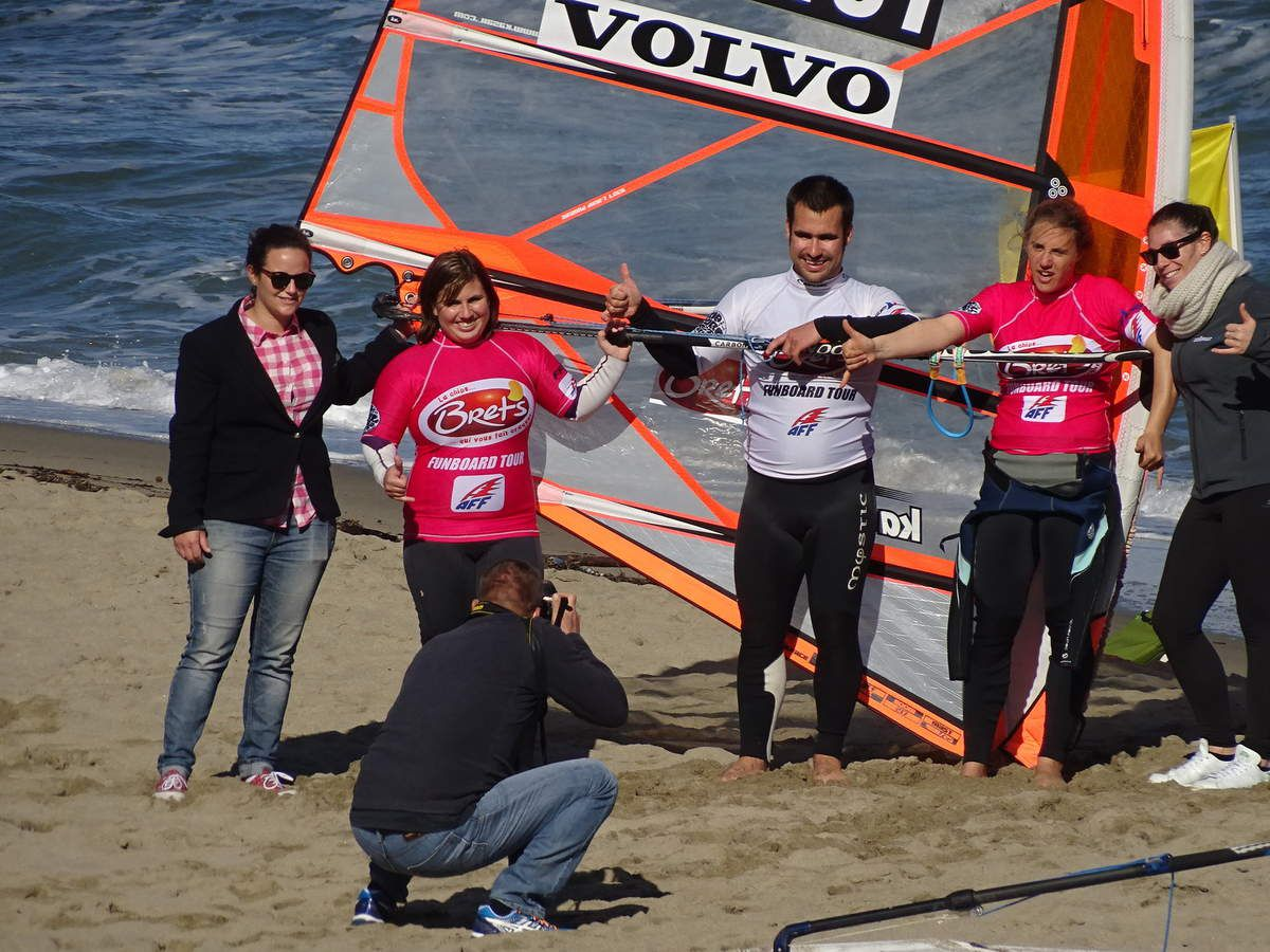 Championnat de France AFF slalom Leucate:the end!