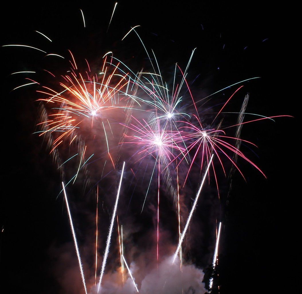 Mon 1er feu d'artifice photo