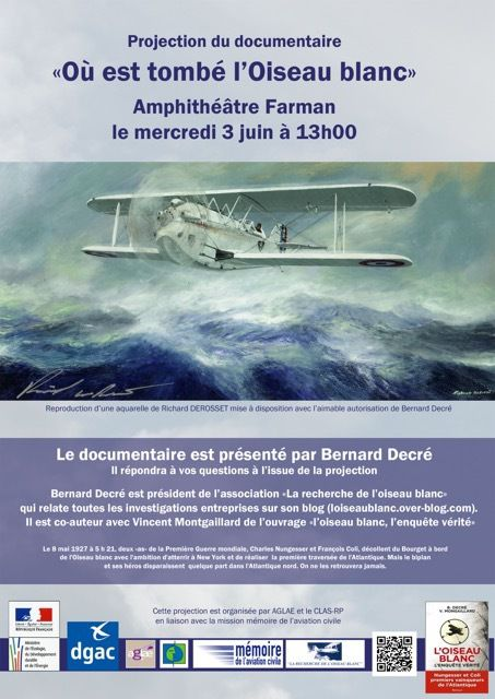 Un grand merci à la DGAC (Direction Générale de l'Aviation Civile)