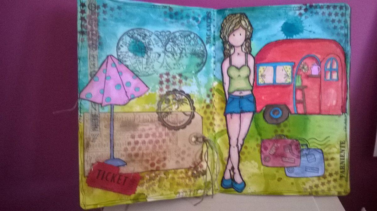 Art journal 4 saisons