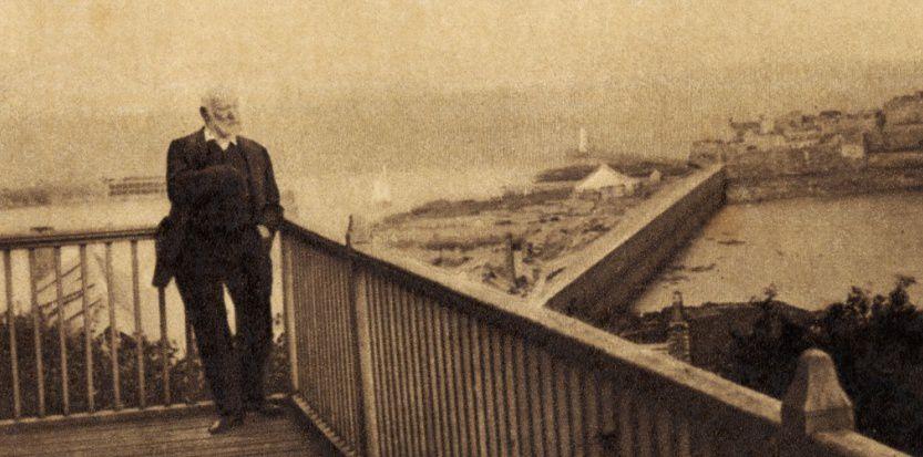 En exil à Jersey, 1868 / Sipa