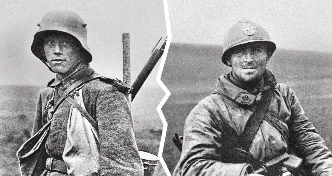 Verdun 1916, photographie extraite du livre écrit par Antoine Prost et Gerd Krumeich, 2015 - © éditions Tallandier