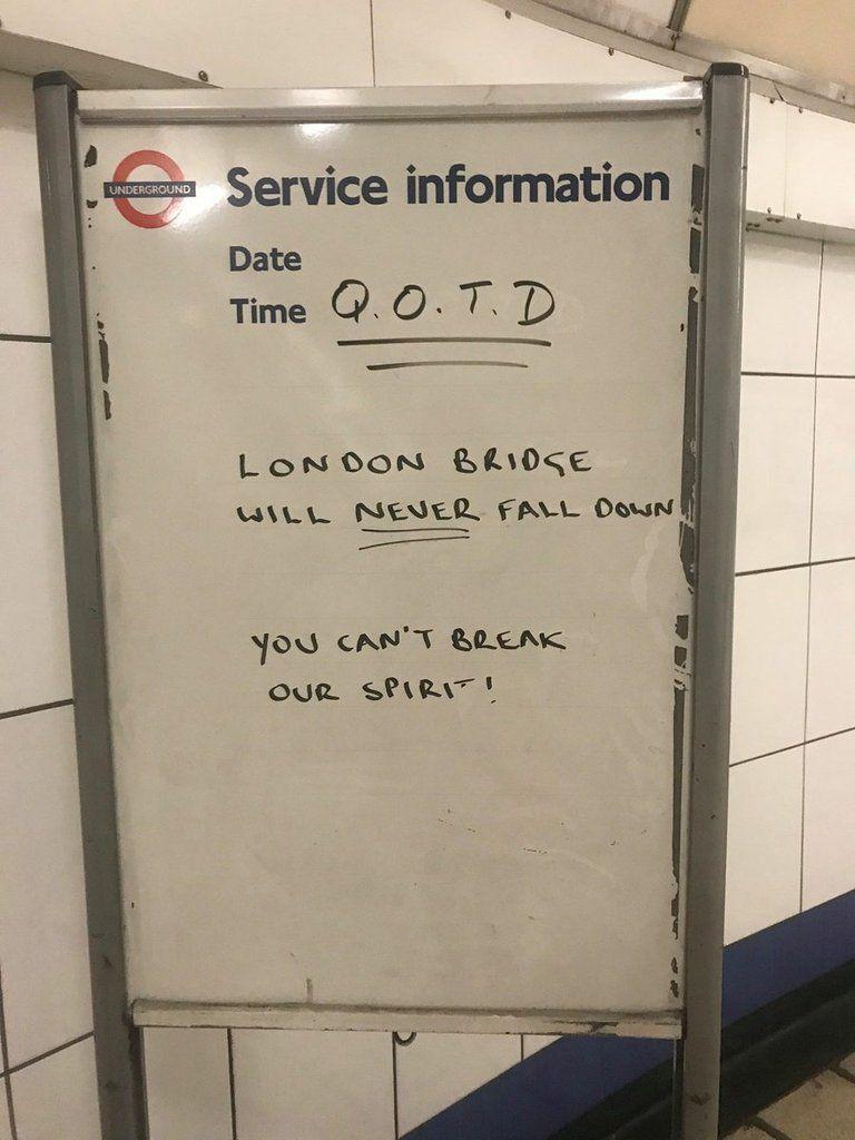 Dans le métro, le même refus d'avoir le dessous