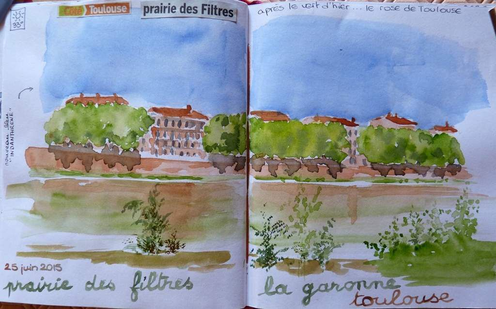 dessins à toulouse