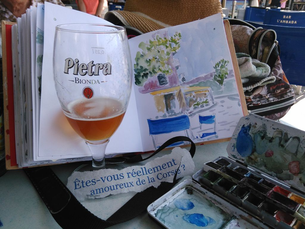 dessins en Corse