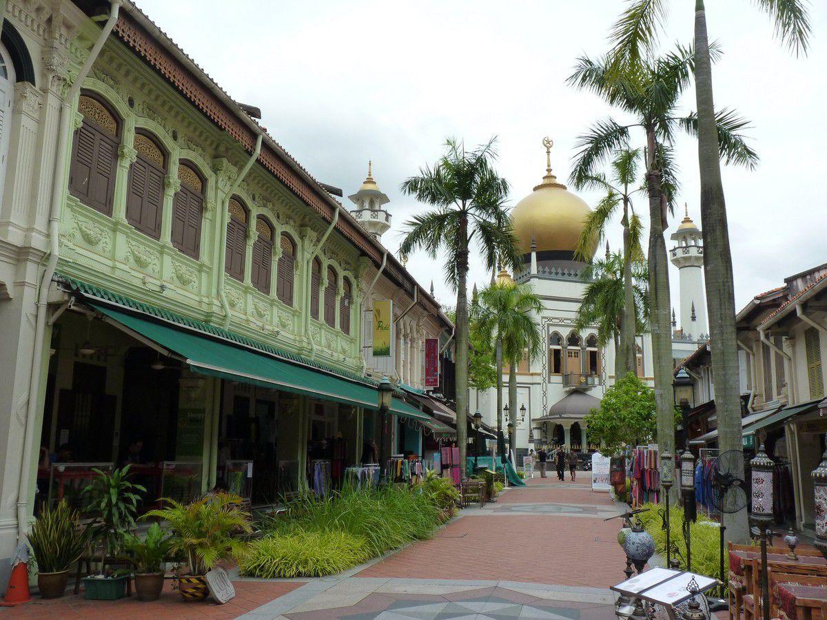 balade en Asie 4. Singapour