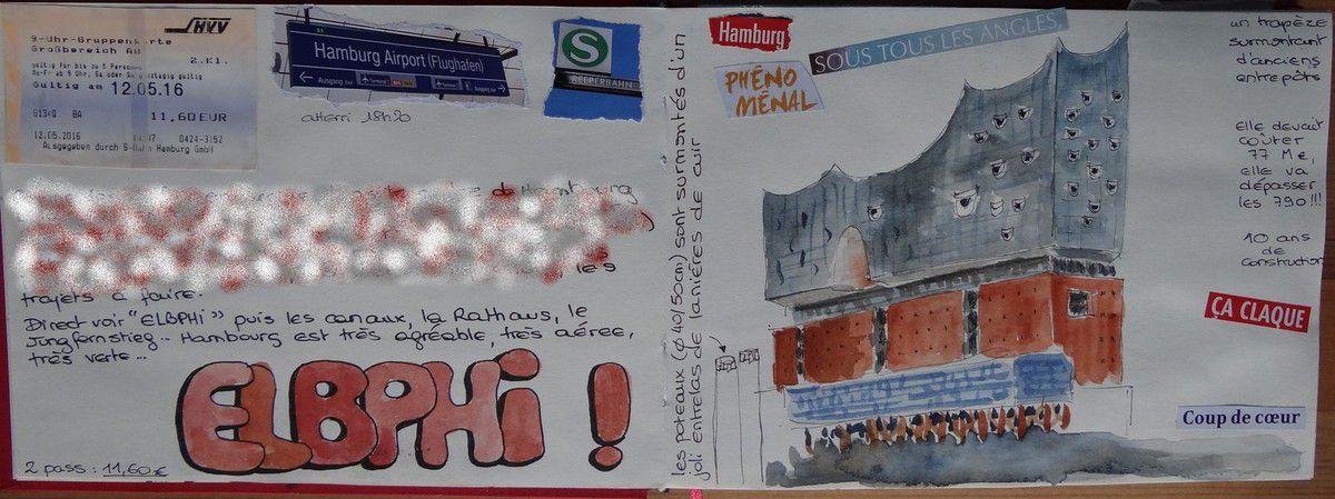 dessins  de Hambourg, Brême et Amsterdam
