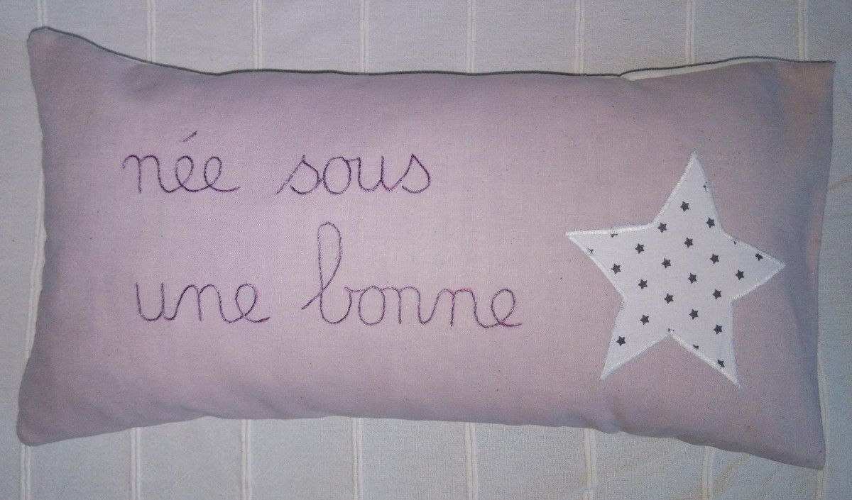 couture, petit coussin