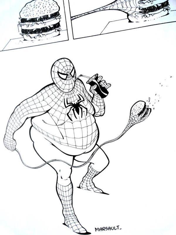 Une brève histoire de Spiderman (starring Thibault, Marsault &amp&#x3B; friends)