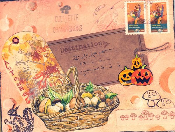 Mail art d'octobre 2015