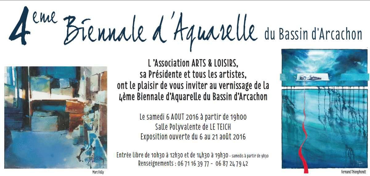 INVITATION BASSIN D'ARCACHON