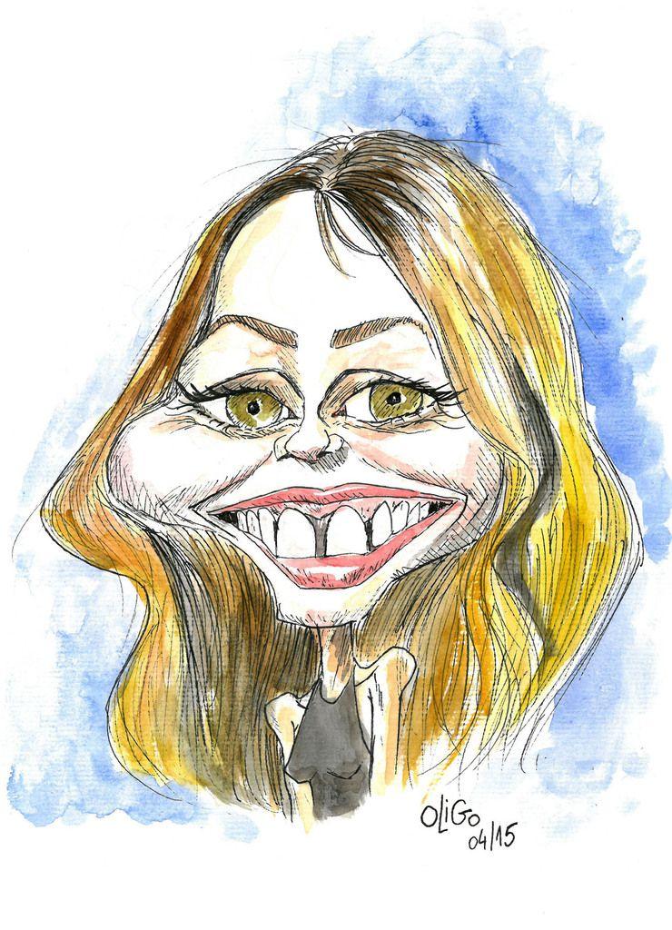 Caricature de Vanessa Paradis