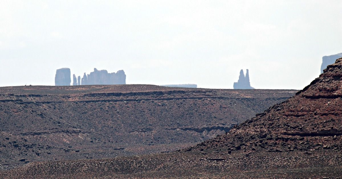 Road trip USA # 10 : Jour 10 : Monument Valley, Valley of the Gods, Cameron