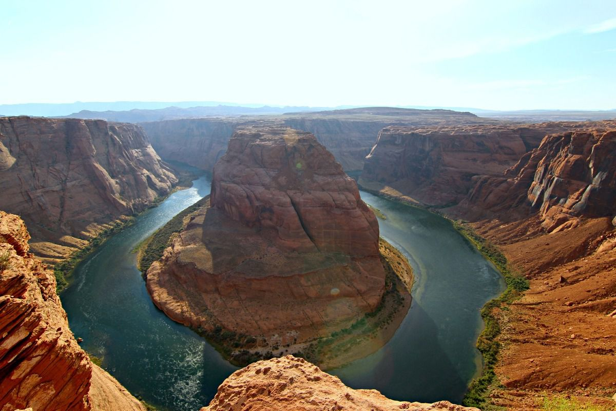 Road trip USA # 9 : Jour 9 : Antelope Canyon, Glen Dam, Lac Powell &amp&#x3B; Horseshoes Bend