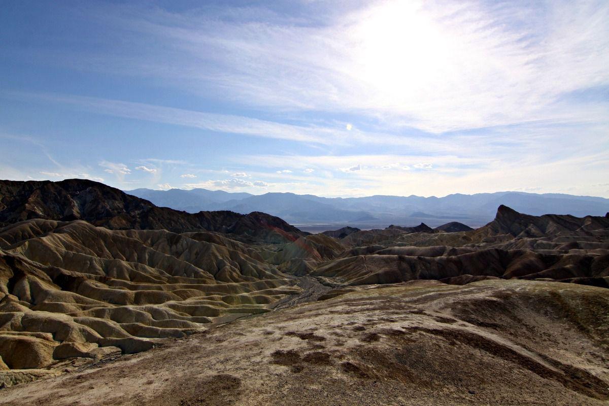 Road Trip USA # 21 : Jour 21 : La vallée de la mort ...