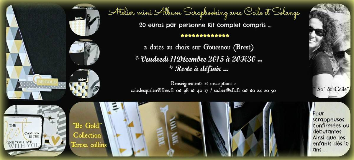 Atelier mini &quot&#x3B; Be Gold&quot&#x3B;