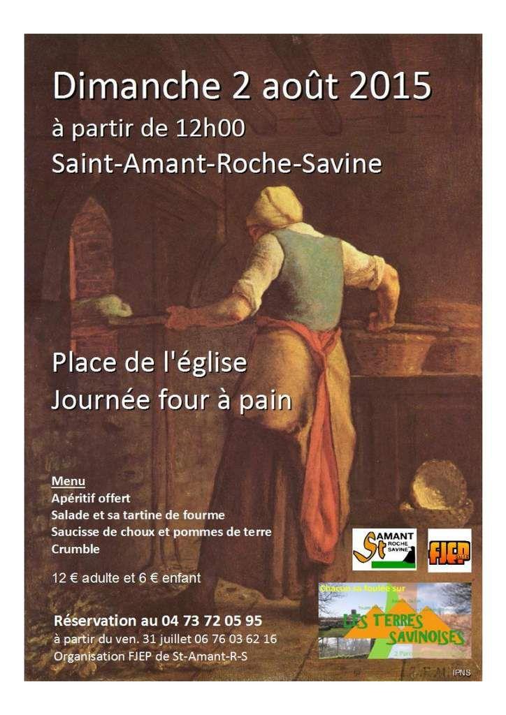 Trail : les terres Savinoises &amp&#x3B; Journée : four à pain - dimanche 2 août