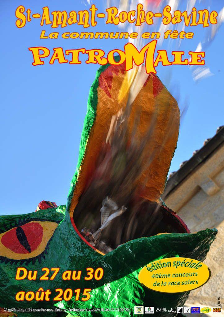 Fête PatroMale 2015 - 27 au 30 août - Programmation