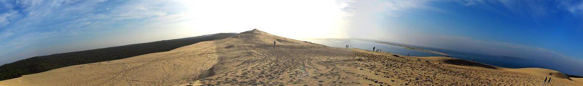 Randonnée pédestre à la dune du Pyla...
