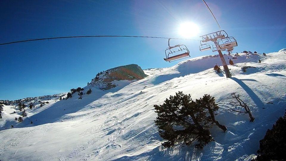 Quatrième session de ski 2017 à La Pierre St Martin (64)...