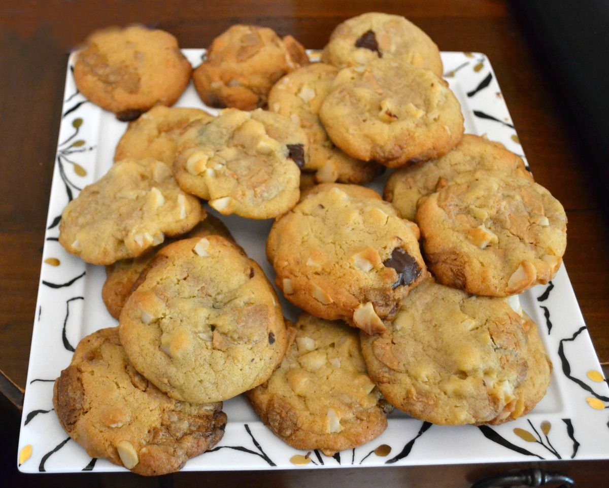 Délicieux Cookies Macadamia et Dulcey