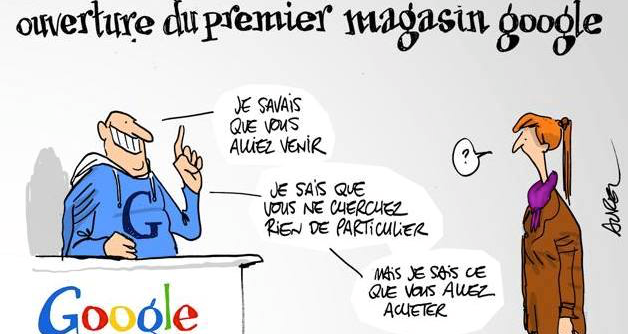 "Instruction : Remplacez ""Google"" par ""Gouvernement"""