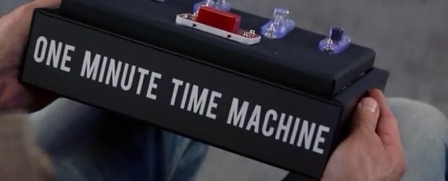 La machine à remonter le temps d'une minute
