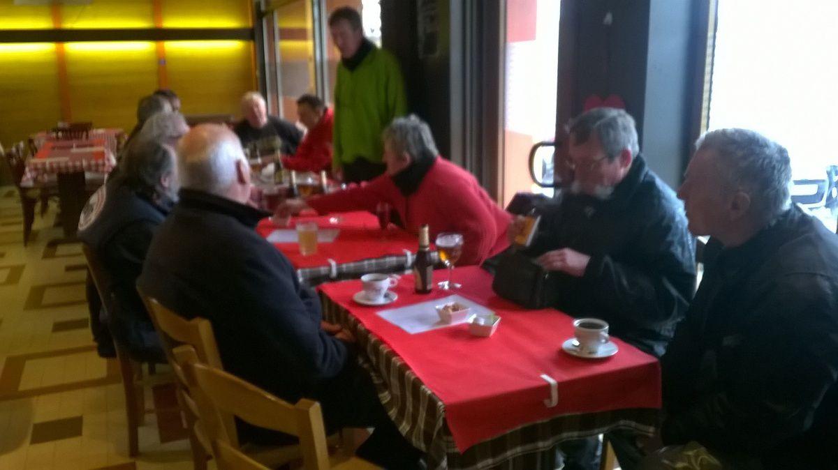 Pause au bar des voyageurs de Renwez