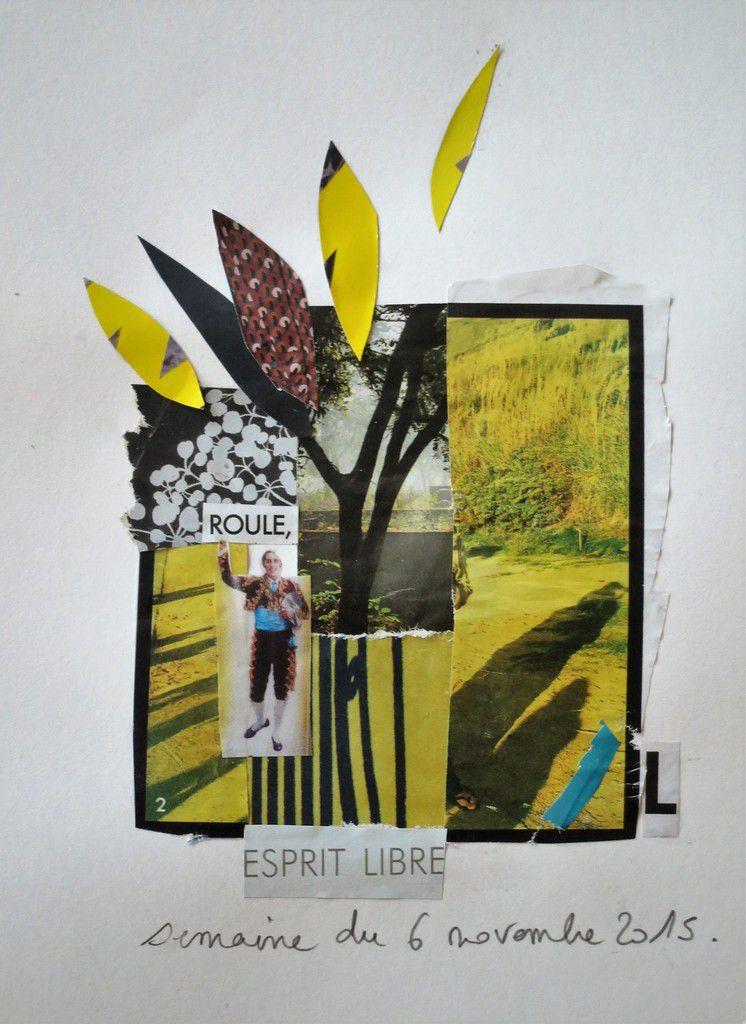 A Laurent Boghossian qui a eu l'idée il y a cinq ans d'imprimer mes collages, et de leur donner une nouvelle vie.