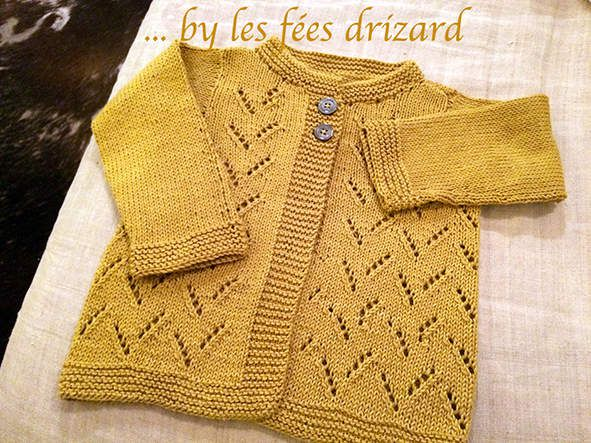 Gilet moutarde