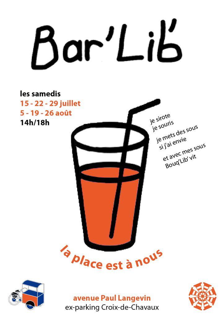 Bouq'Lib' et son Bar'Lib' tous les samedis de l'été
