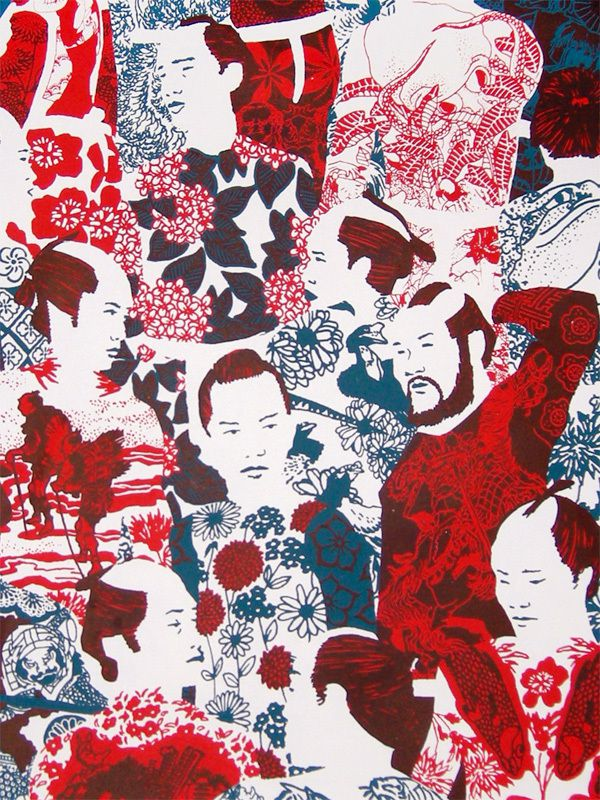 Yakuza's Tatoo Pattern
