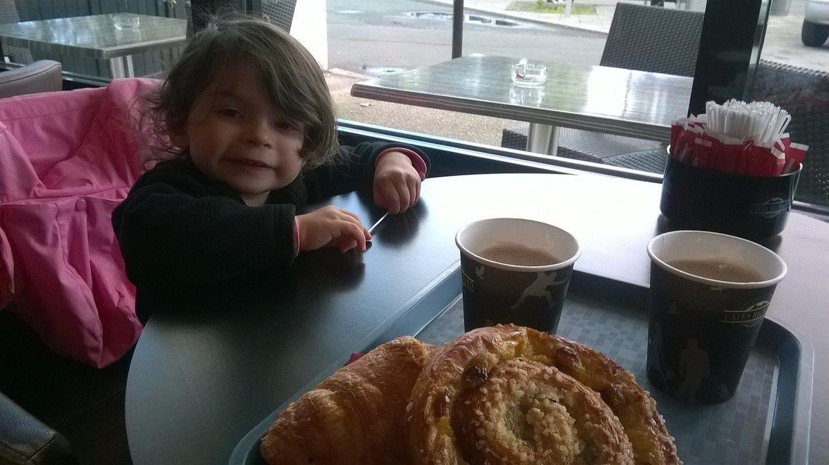 Goûter en famille à la boulangerie du Forum