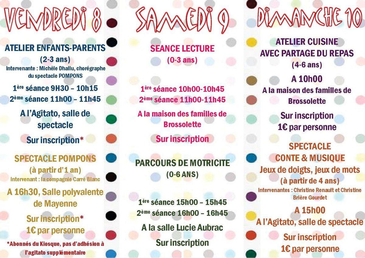 week end petite enfance à Mayenne