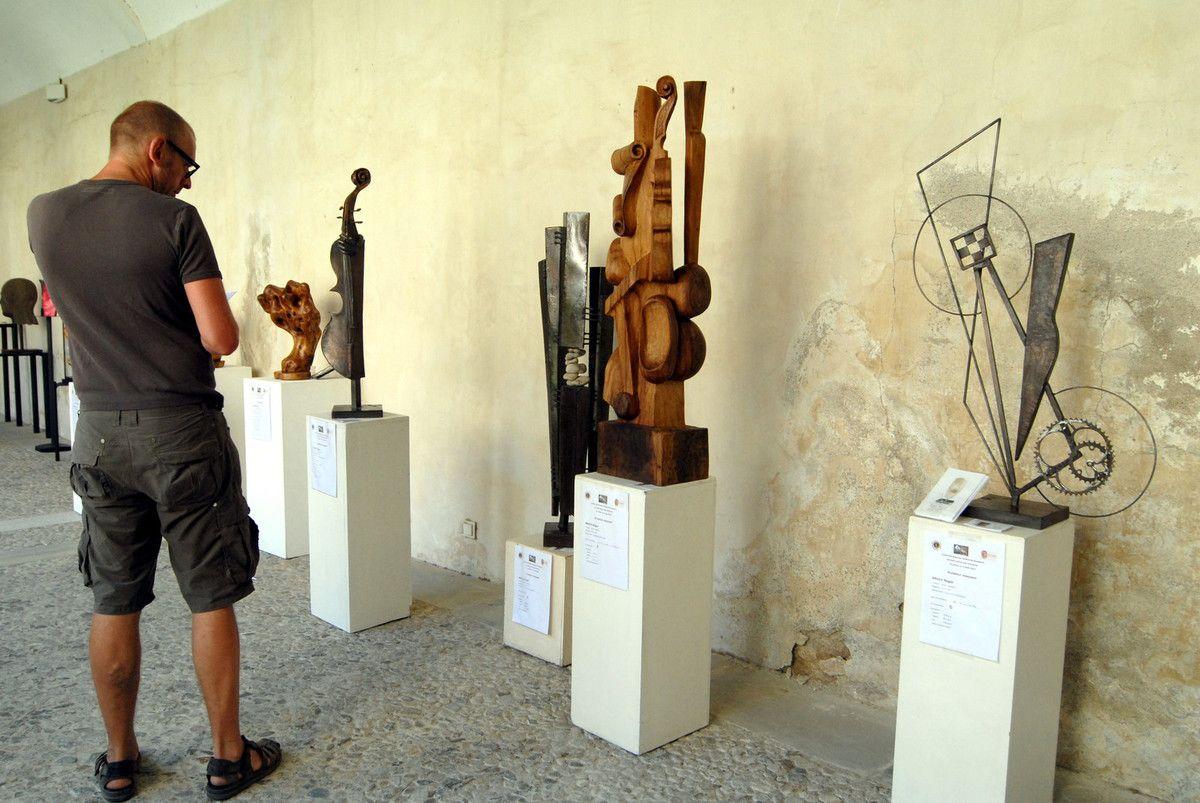 sculptures fer et acier