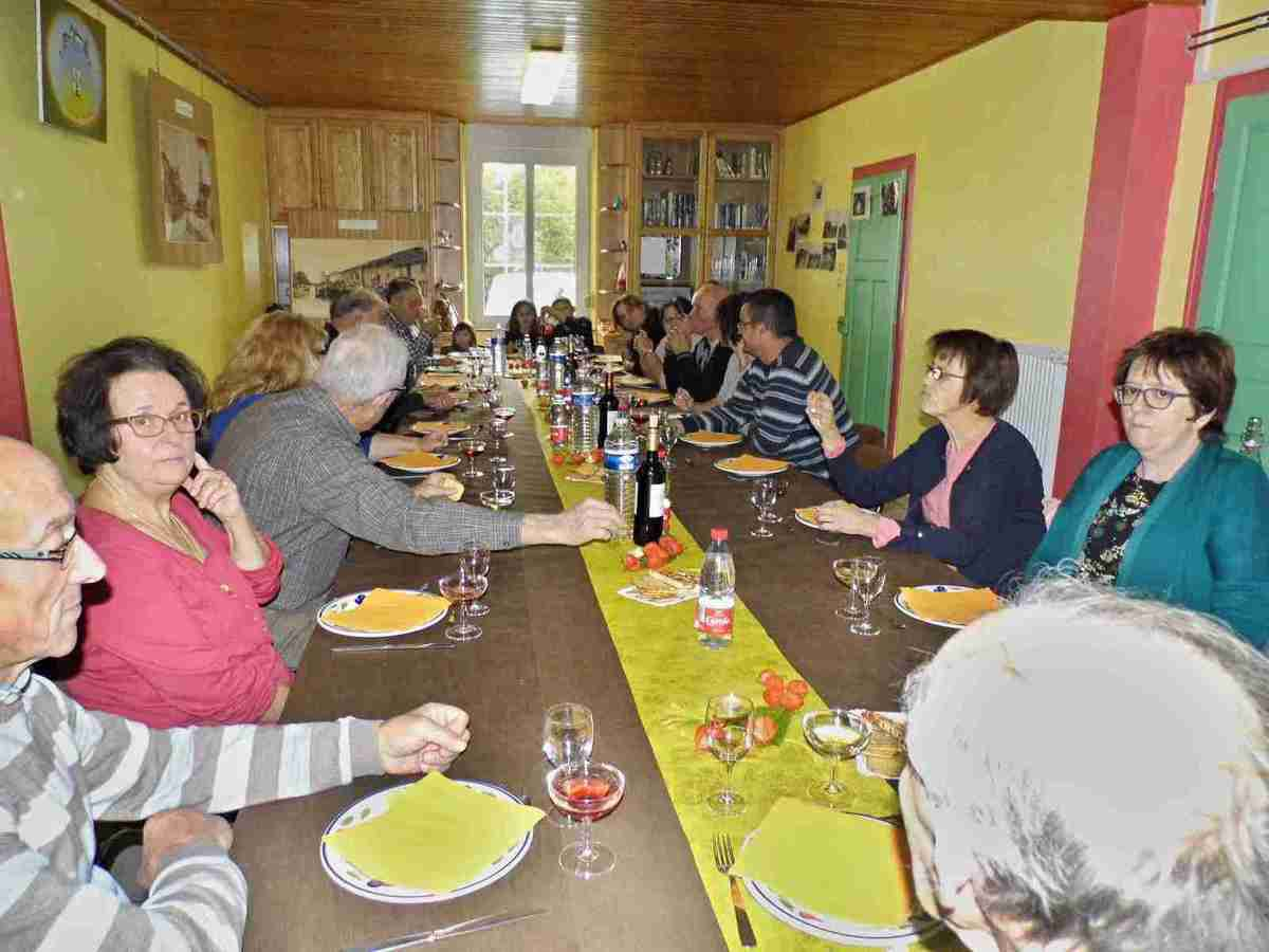 Repas de la Saint Hubert (photos Francis Blaise)