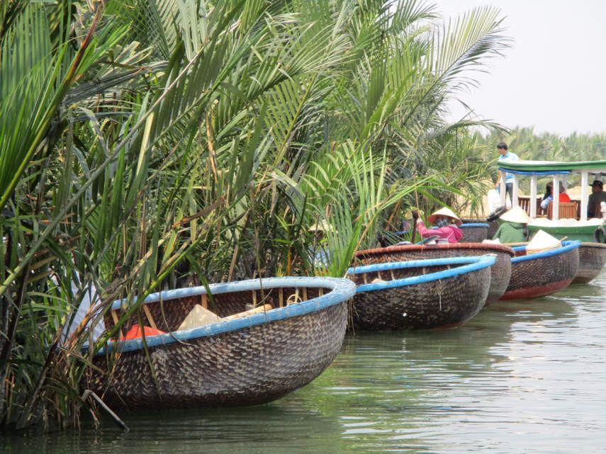 Marché, cocoteraie et cours de cuisine à Hoi An