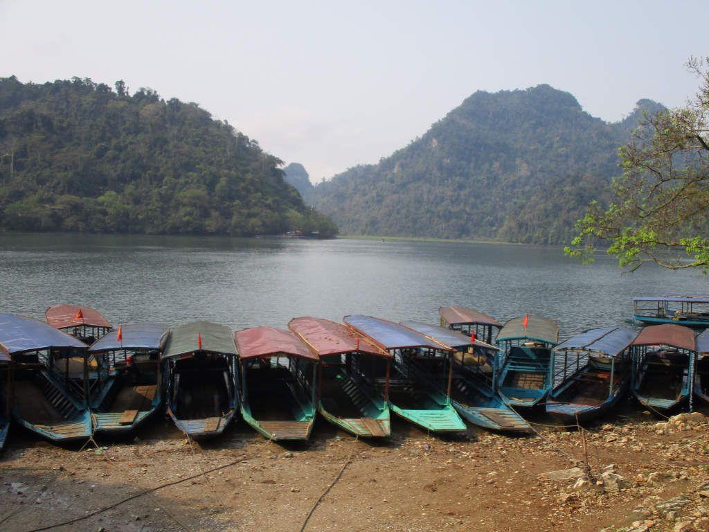Le lac de Ba Be dans le nord du Vietnam