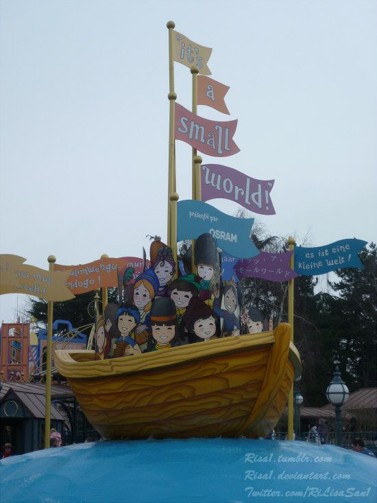 """Attraction """"It's a small world""""."""