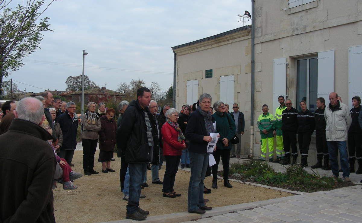 St Hilaire de Villefranche / Minute de silence