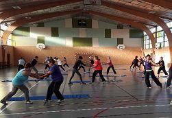 St Hilaire / Rentrée de la Gymnastique Volontaire de St Hilaire