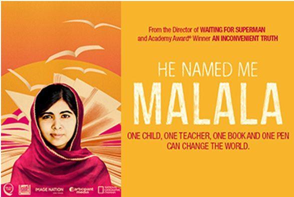 Mardi 16 février : He Named Me Malala (2015)