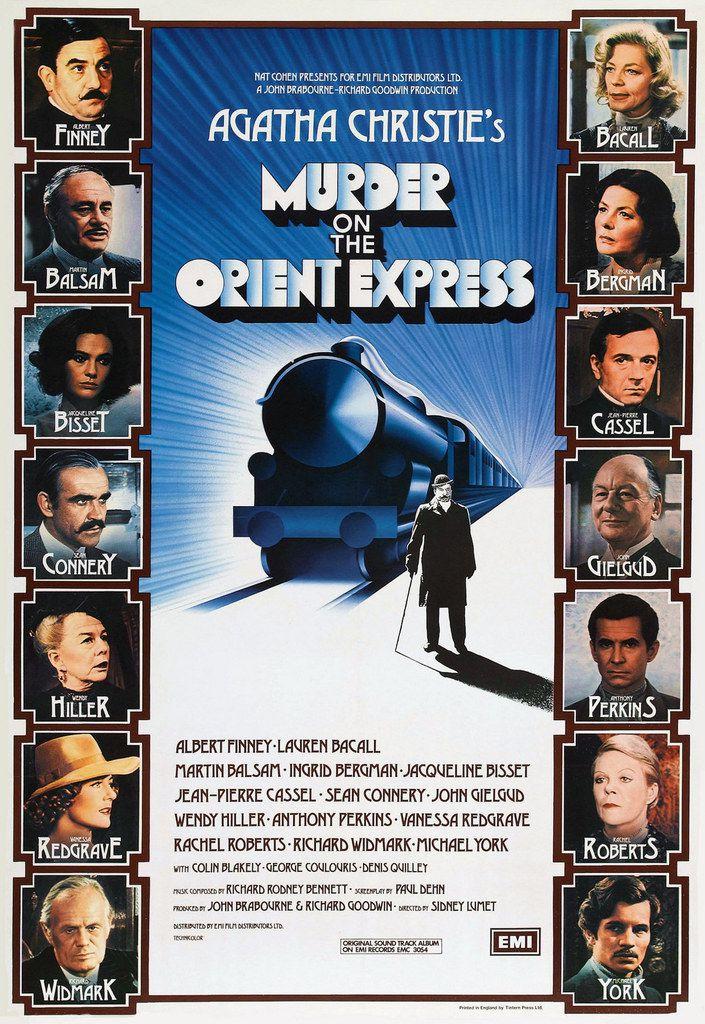 Mardi 22 mars : Le Crime de l'orient Express (1974)