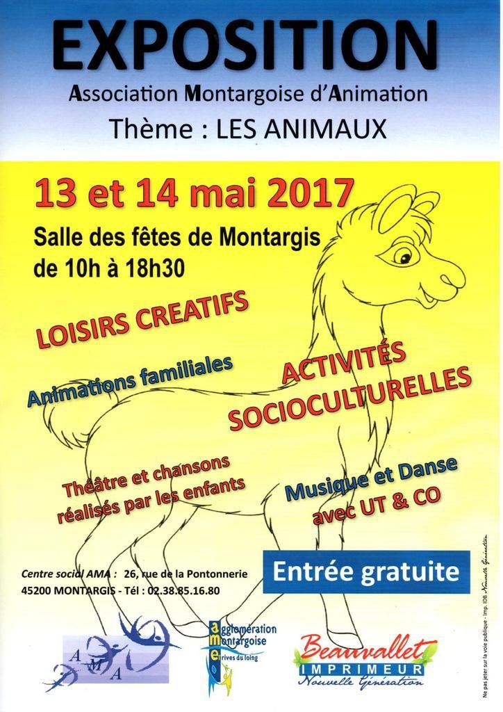 Exposition à Montargis