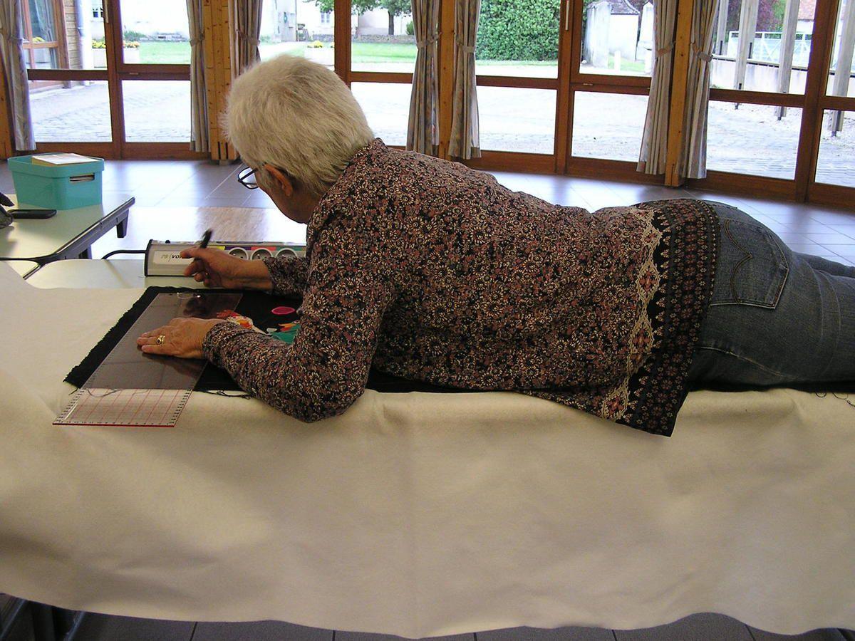 Par contre quand on est trop petite il faut monter sur une chaise !!!!! Le montana patch de Marie-Christine G.