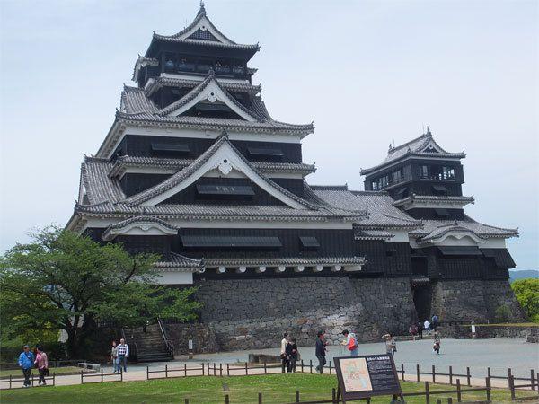 21 avril : Chateau de Kumamoto