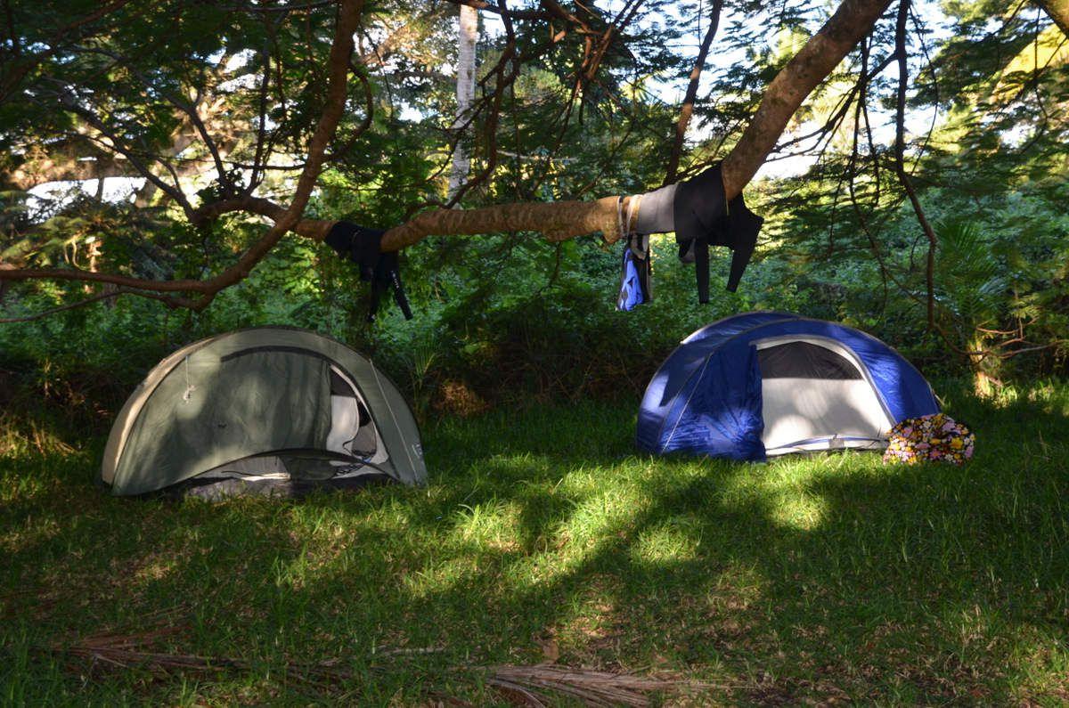 Camping à Casy
