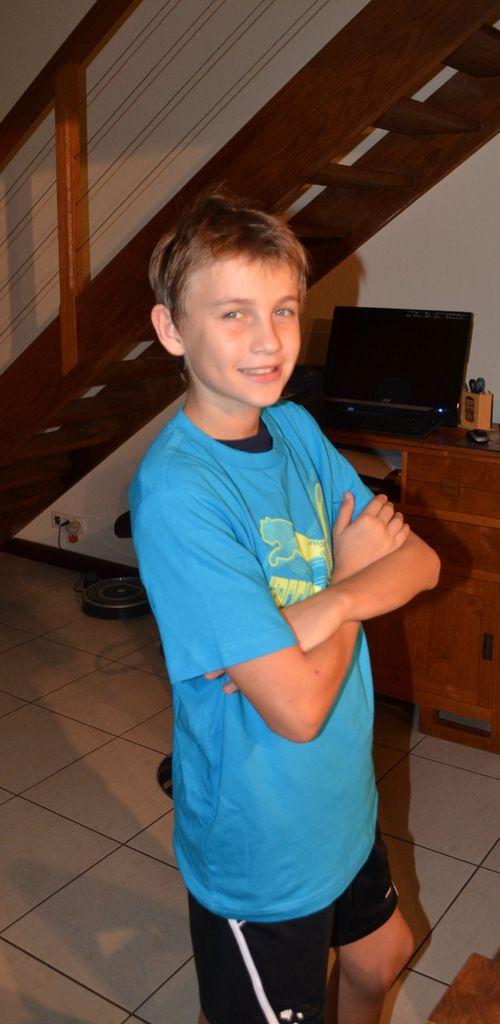 14 ans d'Arthur à Nouméa