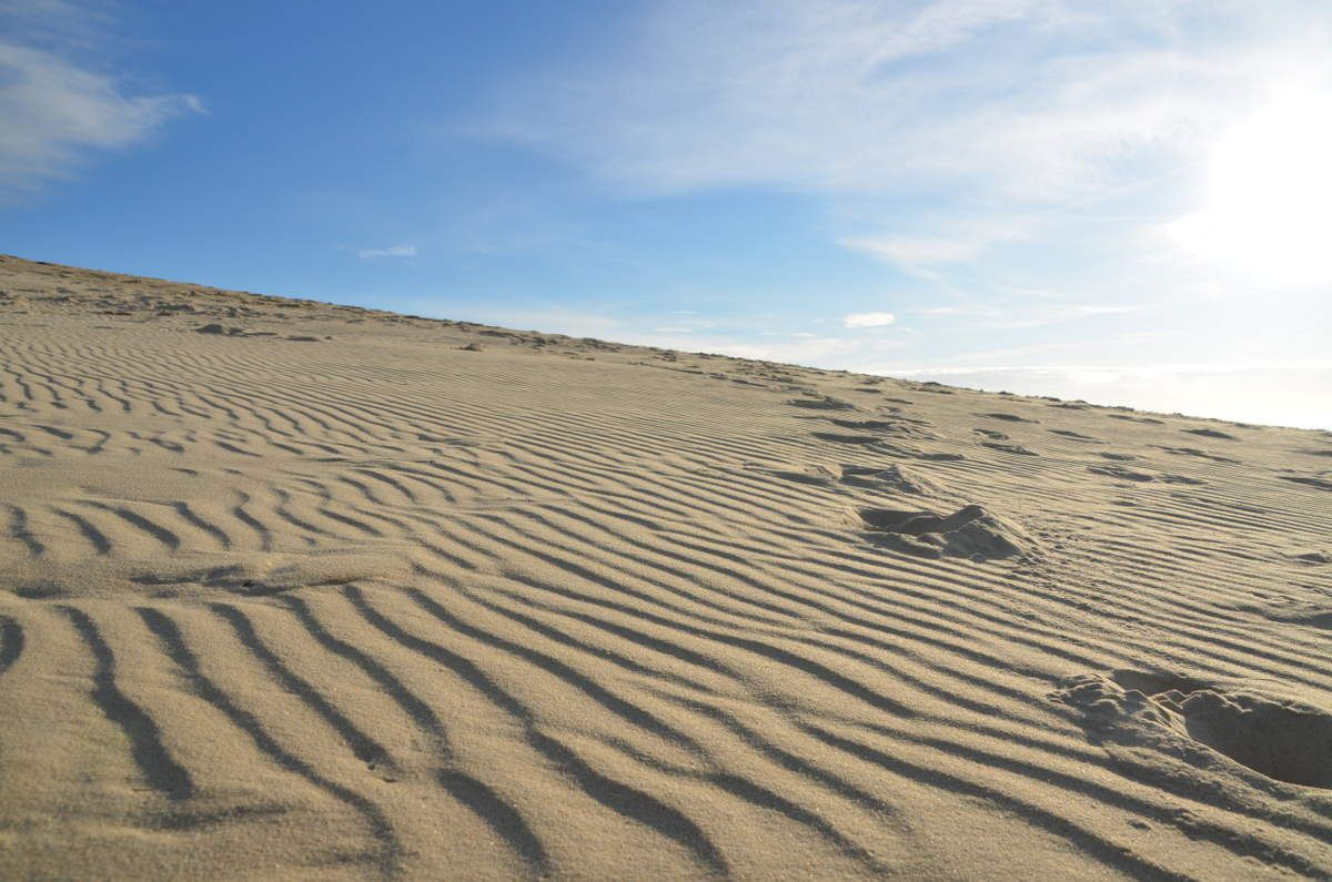 un petit air de Sahara.