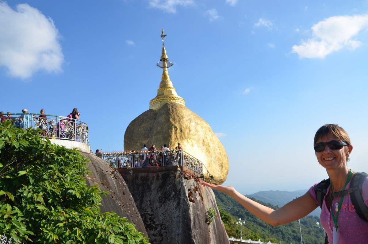 Kyaik-Hti-Yo (le rocher d'or)